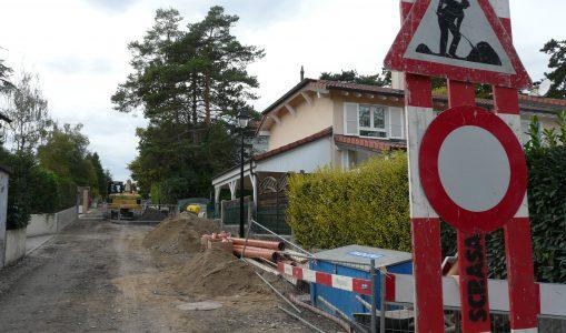 Travaux à Versoix: un vrai parcours du combattant