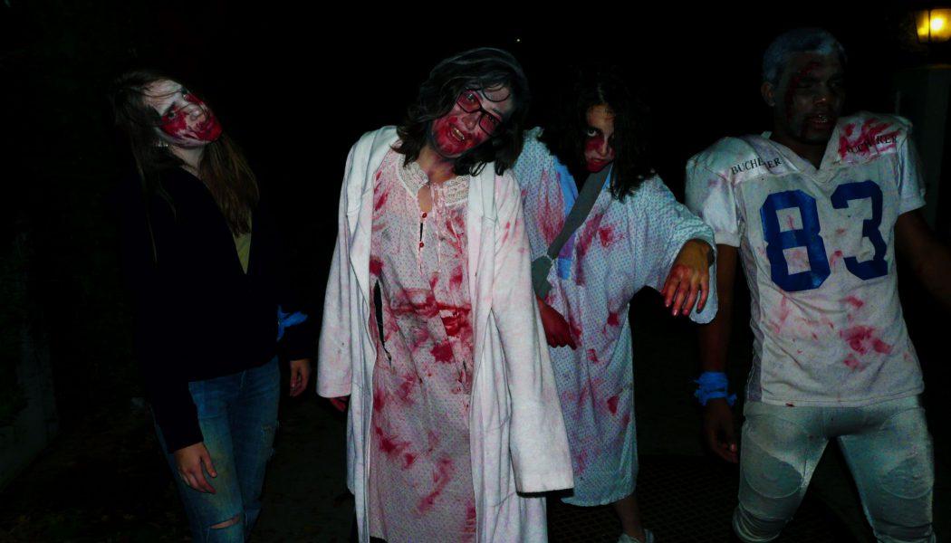 Une armée de morts-vivants chasse dans Genthod