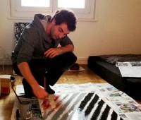 Ariel Kinsky et la profondeur de l'Action Painting