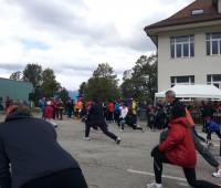 Course de l'Escalade: 700 coureurs ont bravé le froid pour s'entraîner à Bernex