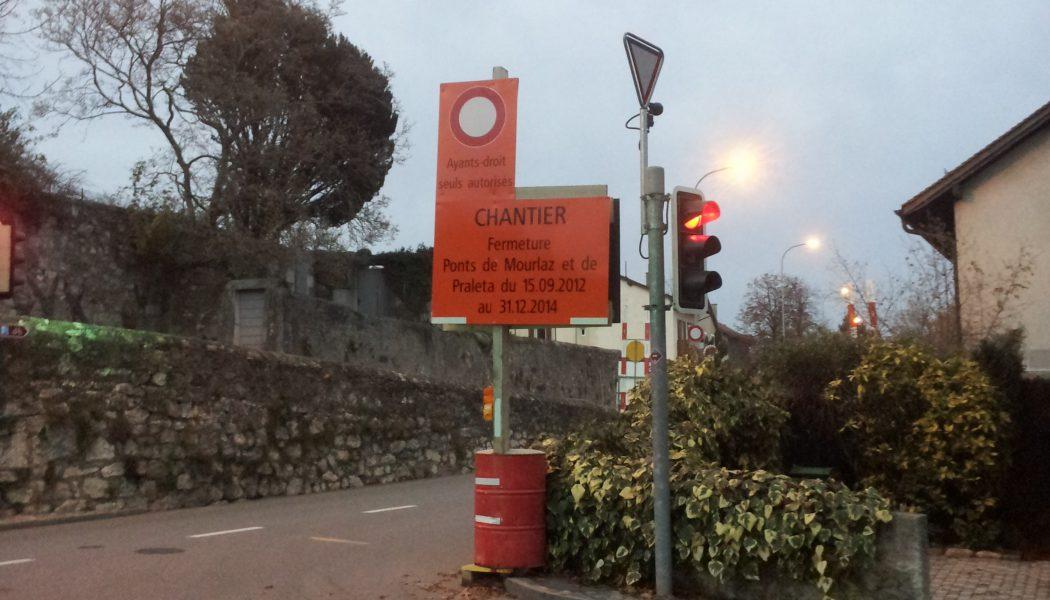 Défilé de véhicules sur les chemins à Confignon: riverains agacés