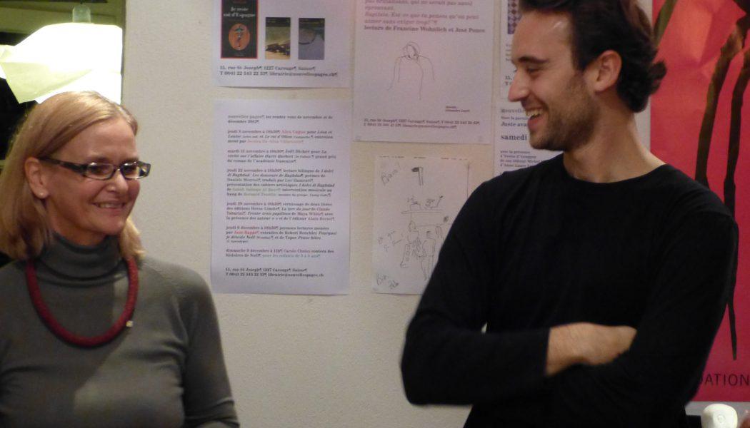 Librairie Nouvelles Pages: Joël Dicker met de l'électricité dans l'air