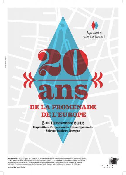 Le quartier de l'Europe fête ses 20 ans!
