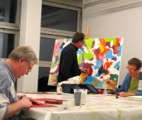 «Peindre ensemble» à l'espace de quartier Le 99