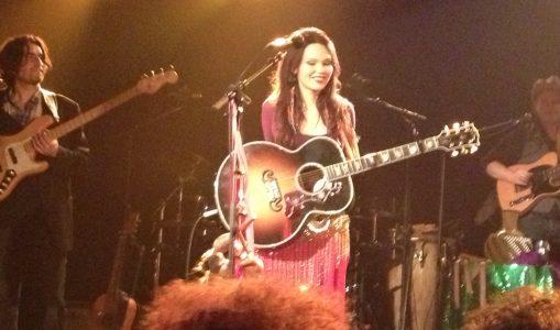 Grace joue la dernière partition des Créatives Festival d'Onex 2012