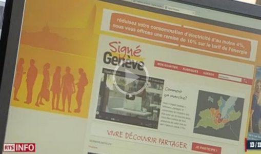 Signé Genève au 12:45 de la RTS