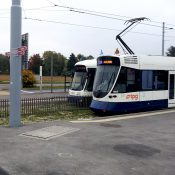 Le tram 14 souffle sa première bougie