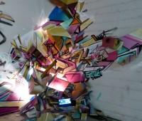 Une exposition de graffitis dans l'ancienne fonderie d'art de Carouge