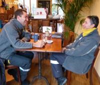 Une bougie pour l'Eki-Thé, salon de thé équitable de La Croix-de-Rozon