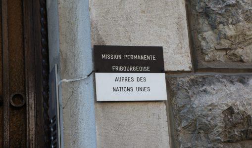 Fribourgeois à l'ONU