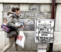 Des boîtes fleurissent en ville pour un système d'échange étonnant