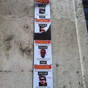 Quand les portraits de «voleurs» s'affichent sur les murs de la ville
