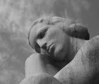 Statue Recueillement