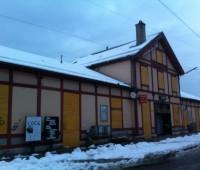 Travaux du CEVA à la gare des Eaux-Vives