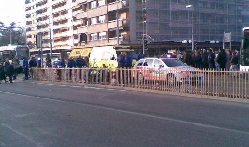 Accident à Thônex