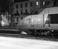 TGV à l'arrivée