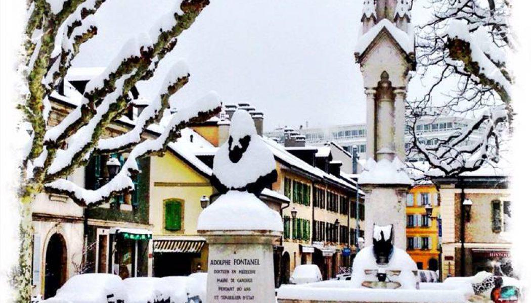 Vos quartiers sous vingt centimètres de neige