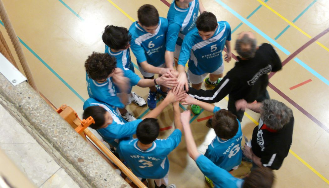 PEPS Versoix VBC champion genevois de volleyball