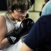 Au Lignon, la boxe comme outil pédagogique