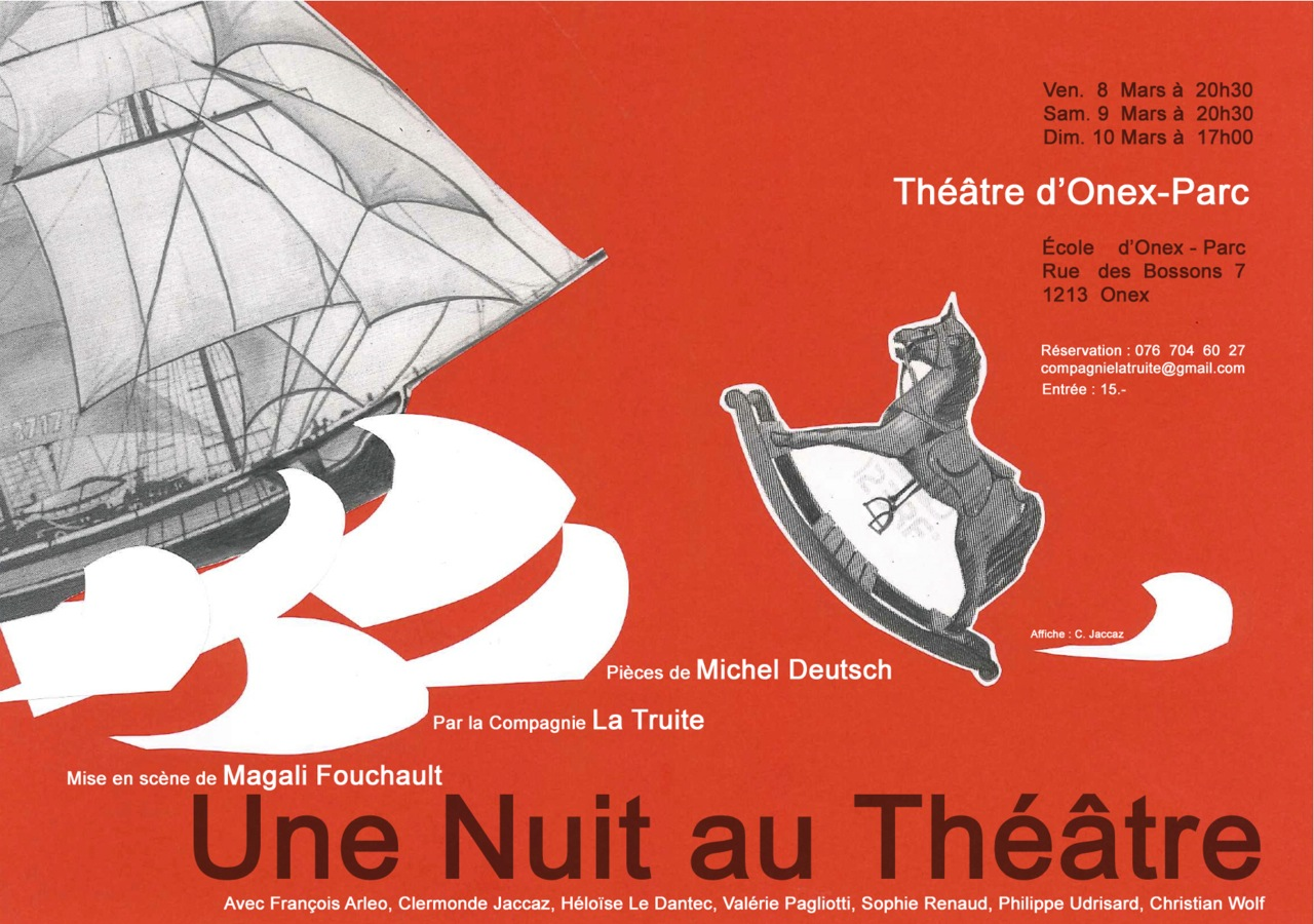Une nuit au th tre for Une farce au theatre