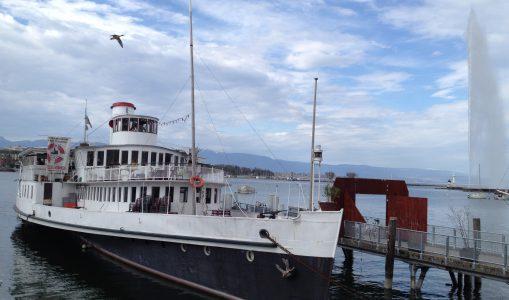 Bateau Genève ouvre sa buvette pour la saison