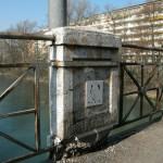 Le pont de Carouge est en état de délabrement (S.D. Tomei)