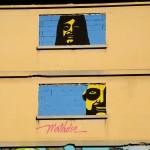 Les fresques de la Cité Jardin Vieusseux, laissée à l'abandon (P. Mahassen)