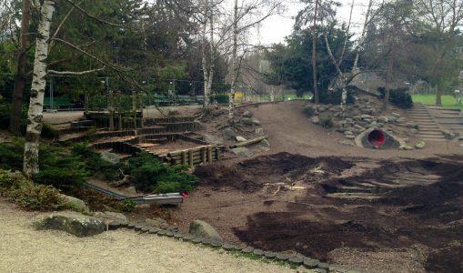 La place de jeux du parc Bertrand fait peau neuve