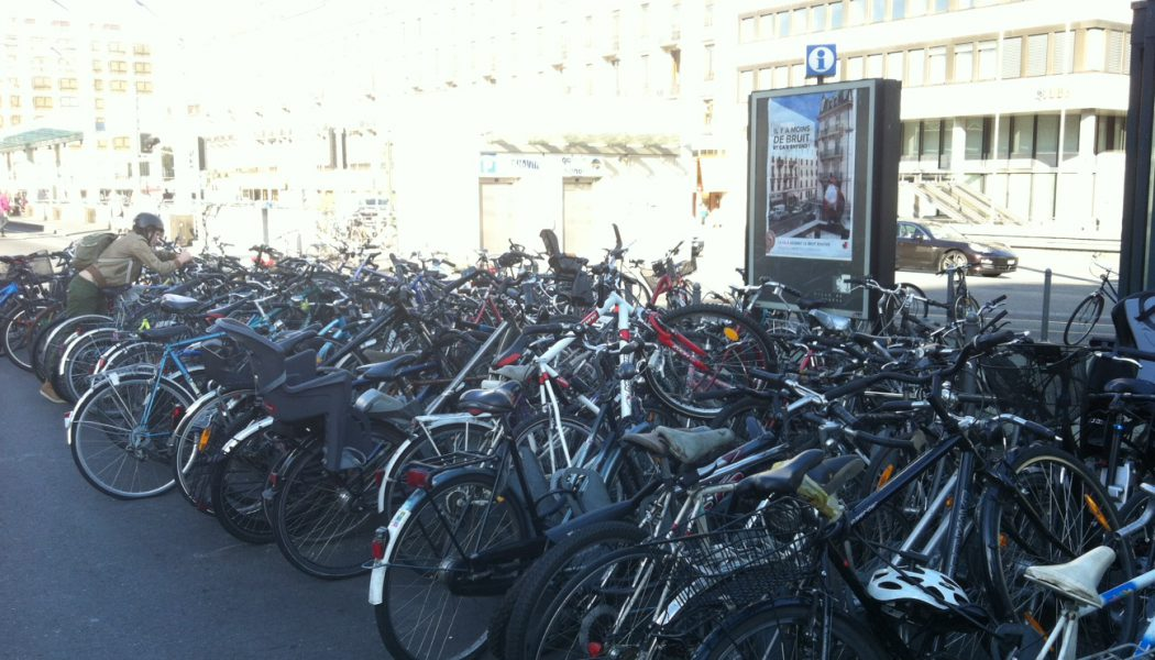 Parquer son vélo à la gare, la galère!