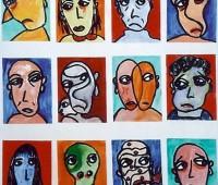 L'artiste genevoise Linda Naeff expose à L'art dans l'R