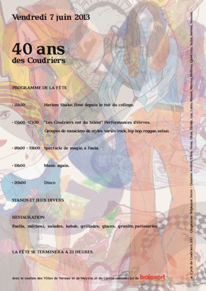 Le collège des Coudriers fête ses 40 ans