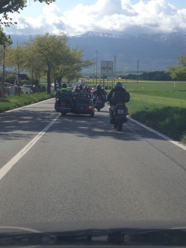 rencontre motard suisse Ajaccio