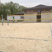 Aux Evaux, le tennis cède du terrain au Beach volley