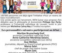 Table ronde «Justice sociale au 21e siècle & Revenu de base»