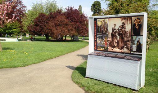 Des clichés exotiques s'affichent au parc Bertrand