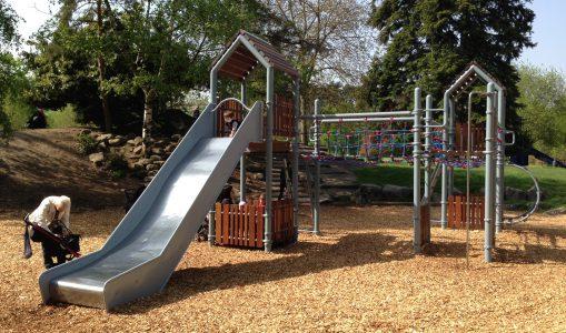 La nouvelle place de jeux du parc Bertrand ne fait pas l'unanimité