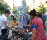 Au parc des Chaumettes, c'est barbecue, musique et danse!