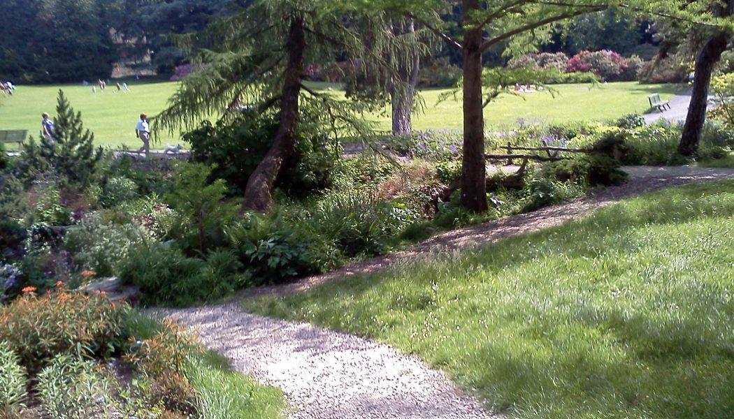 Parc à Genève