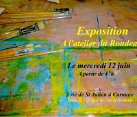 Expo, cours de peinture et scène ouverte à Carouge