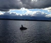 La sirène du lac Léman