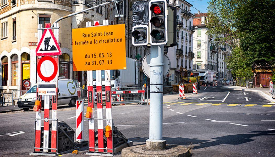 La fermeture de la rue de St-Jean agace les commerçants