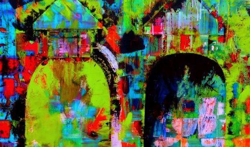 Catherine Ferret à la galerie Tox,n,Co
