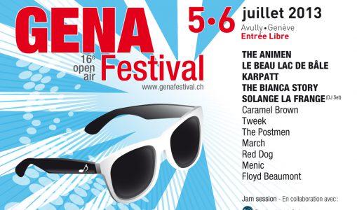 Gena Festival 16ème Open Air, les 5-6 juillet 2013