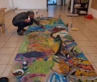 Peinture collective de 15h00 à 16h00