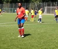 Un tournoi de foot pour la fête nationale de la Colombie