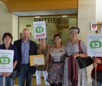 «Rendez-nous notre tram 13!»: pétition déposée à Carouge