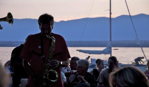 A Hermance, le jazz s'écoute sur la plage