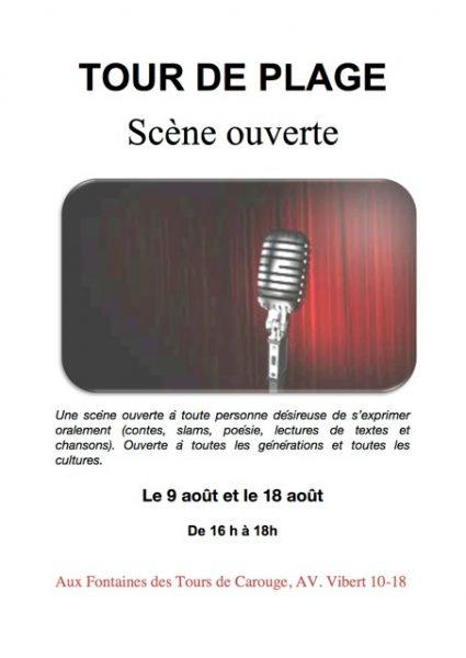 Scène ouverte et cours de Zumba ce week-end à Carouge