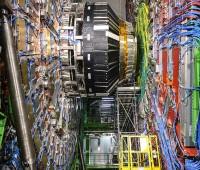Visite dans les entrailles du CMS au CERN
