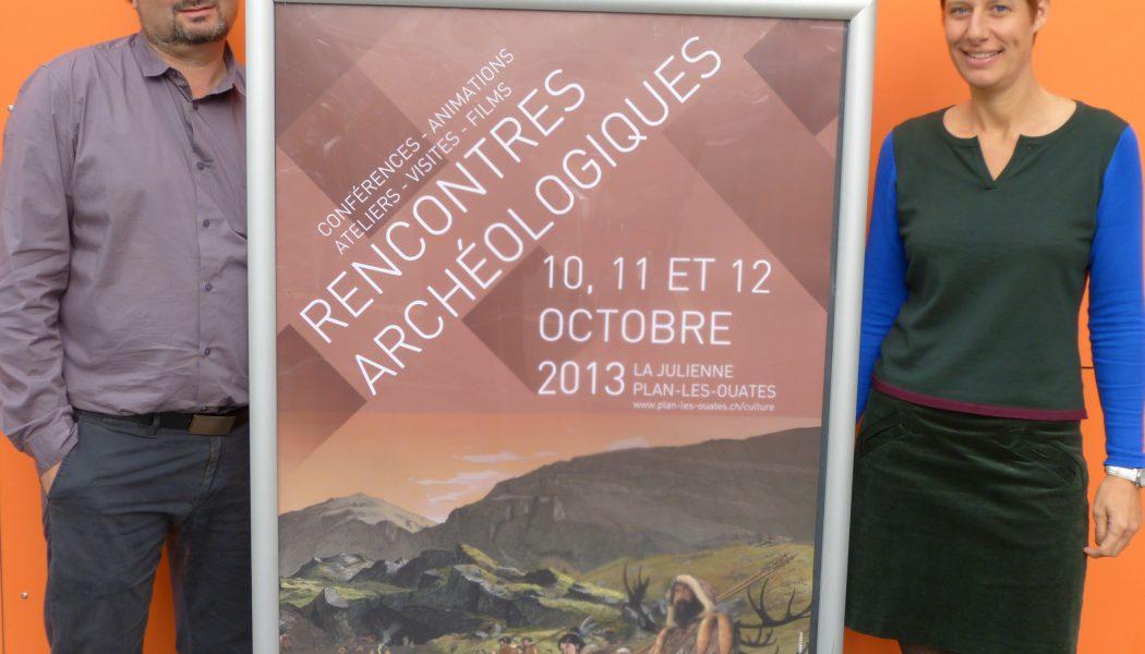 Un couple d'archéologues met sur pied des rencontres à Plan-les-Ouates